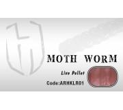 Силиконовая приманка Herakles Moth Worm