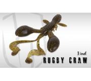 Силиконовая приманка Herakles Rugby Craw 3