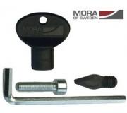 Комлект MORA ICE NOVA (центрирующее остриё, винт M8, торцовый ключь) (ICE-MVM0010)