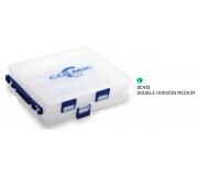 Коробка двойная пластиковая Colmic Double Horizon medium