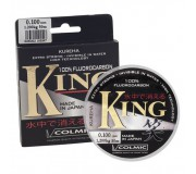 Леска флюорокарбоновая Colmic King 50 м (Kureha)