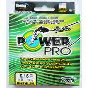 Шнур плетёный Power Pro Hi-Vis Yellow 135 м