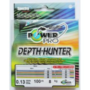 Шнур плетёный Power Pro 100м Depth Hunter (Multicolor)