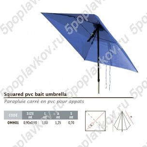 Зонт Colmic квадратный PVC 90x90 см