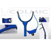 Рогатка для прикормки COLMIC DEVIL GROUNDBAIT MEDIUM DISTANCE (Elastic 4.50mm-Blue)