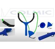 Рогатка для прикормки COLMIC ORION SOLID POUCH 55mm (Elastic 4.00mm-Green)