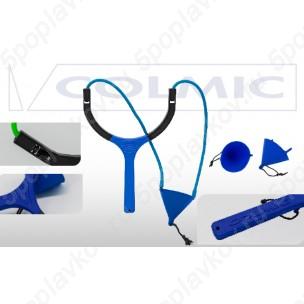 Рогатка для прикормки COLMIC ORION SOLID POUCH 55mm (Elastic 4.50mm-Blue)
