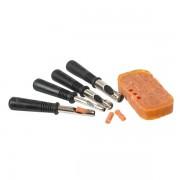 Комплект высечек для изготовления пеллетса и насадки Korum Bait Punch Set (4 размера)
