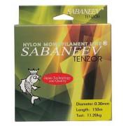 Леска Sabaneev Tenzor Monofilament Clear (150 м)