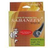 Шнур плетёный Sabaneev Tenzor 100% PE Dark Green (75M)