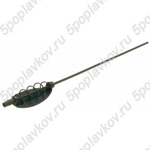 Кормушка фидерная Cralusso Flat/ spring feeder basket with anti tangle tube ( 2 шт )