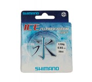 Леска флюорокарбоновая Shimano Ice Silkshock Fluorocarbon