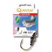 Крючки с поводком Quantum для ловли форели на пасту