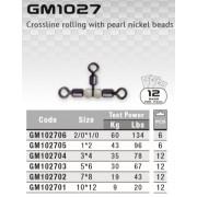 Вертлюги тройные Т-образные Colmic GM1027