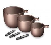 Прикормочные чашки Stonfo для штекера (3 шт.)