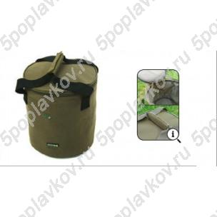 Ведро мягкое для прикормки с крышкой 30plus Kodex Bait Bucket