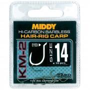 Крючки Middy KM-2 Hair-Rig Eyed Hooks