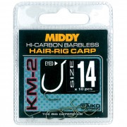 Крючки Middy KM-2 Hair-Rig Eyed Hooks