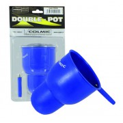 Чашка прикормочная двойная Colmic Double Pot 250 мл