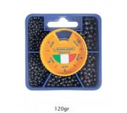 Набор грузил Colmic Ticino Media (5 размеров, 120г)