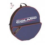Сумка для садка двойная с карманом Colmic P/Nassa Singolo (Red Series)