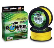 Шнур плетёный Power Hi-Vis Yellow жёлтый (275 м)