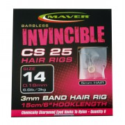 Поводки Maver Invincible Hair Rigs CS25