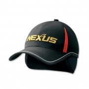 Кепка Shimano NEXUS Water Repellent Cap with ear warmer красная черная