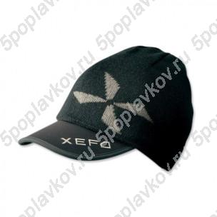 Вязаная кепка-шапка Shimano XEFO Layer Knit Cap Set черная