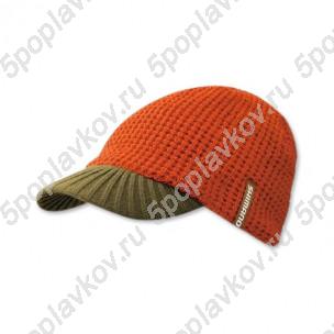 Шапка с козырьком Shimano Knit Cap коричневый/хаки