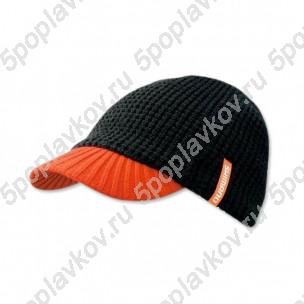 Шапка с козырьком Shimano Knit Cap черная
