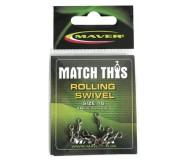 Вертлюги Maver Match This Rolling Swivel