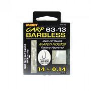 Поводки MIDDY Carp Barbless 63-13