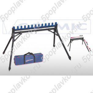 Подставка-гребенка Colmic Match для 12 удилищ с телескопическими ногами