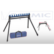 Подставка-гребенка Colmic Easy для 9 удилищ c телескопическими ногами
