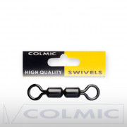 Вертлюги Colmic Rolling Swivels Double H.S. 12 шт.