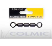 Вертлюги Colmic Rolling Swivels Treble H.S. 12 шт