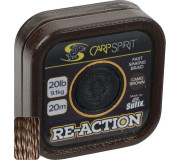 Поводковый материал Carp Spirit Reaction Braid коричневый
