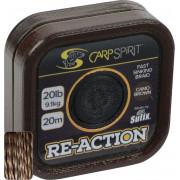 Поводковый материал Sufix Carp Spirit Reaction Braid коричневый