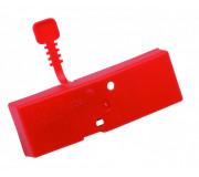 Чехол на ножи ручных ледобуров MORA ICE Easy красный