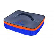 Сумка-контейнер Colmic PLASTIC BAIT BOX HOLDER (Orange Series)