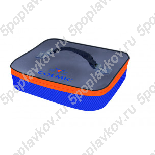 Сумка-контейнер Colmic PVC Plastic Bait Box Holder (Orange Series)