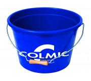 Пластиковое ведро для прикормки Colmic GROUNDBAIT BUCKET OFFICIAL TEAM