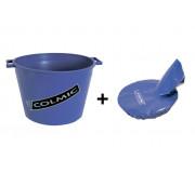 Пластиковое ведро для прикормки Colmic MASTELLO (25 л.) + Мягкая крышка