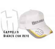 Бейзболка Herakles CAPPELLO BIANCO CON RETE