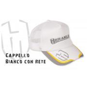 Бейсболка Herakles Cappello Bianco Con Rete