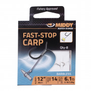 Поводки с крючками Middy Fast-Stop Carp Long HTN
