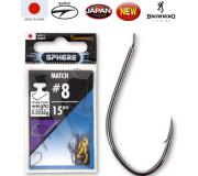Крючки с поводками Browning Sphere Match (черный никель)