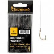 Крючки с поводками Browning Feeder Leader Master FC