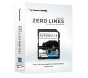 Карты Humminbird SD Autochart ZeroLine Europe